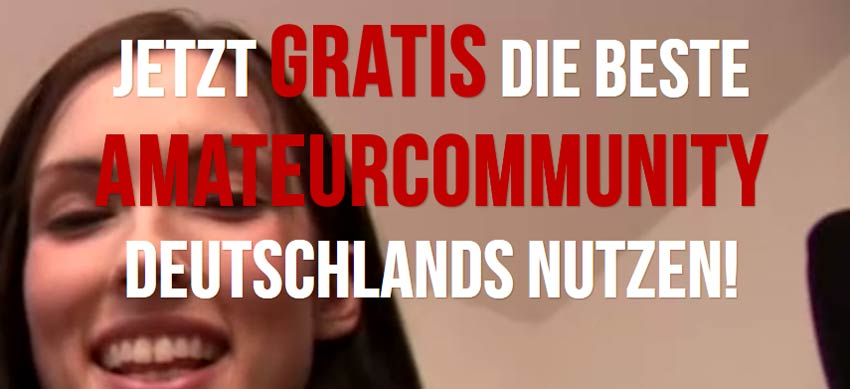 Amateurcommunity gratis